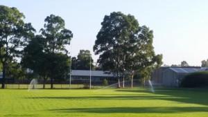 high school sprinkler system