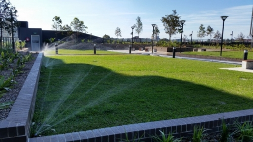 Eastern Suburbs sprinkler system installation (Small)